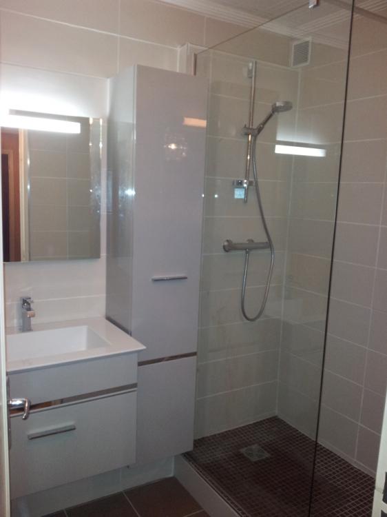 r novation salle de bain avec cr ation de douche le havre montivilliers bl ville epouville. Black Bedroom Furniture Sets. Home Design Ideas