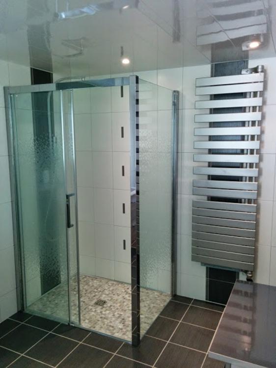 Cr ation salle de bain avec douche l 39 italienne le havre - Creation douche italienne ...